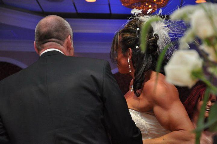 Свадьба бодибилдерши из Германии Gabrielle Hames (2)