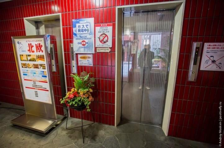 Японская капсульная гостиница или жизнь в коробке (3)