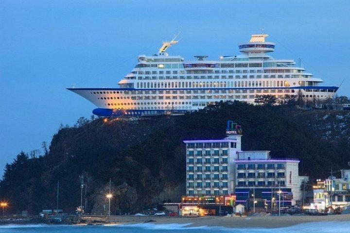 Корабль-отель Sun Cruise в Южной Корее (4)