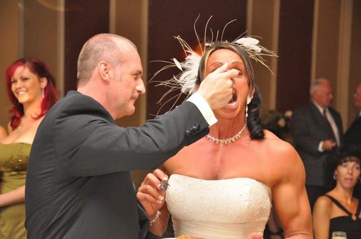 Свадьба бодибилдерши из Германии Gabrielle Hames (5)