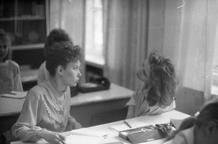 Ностальгия. Школа № 205, 1991 год (5)