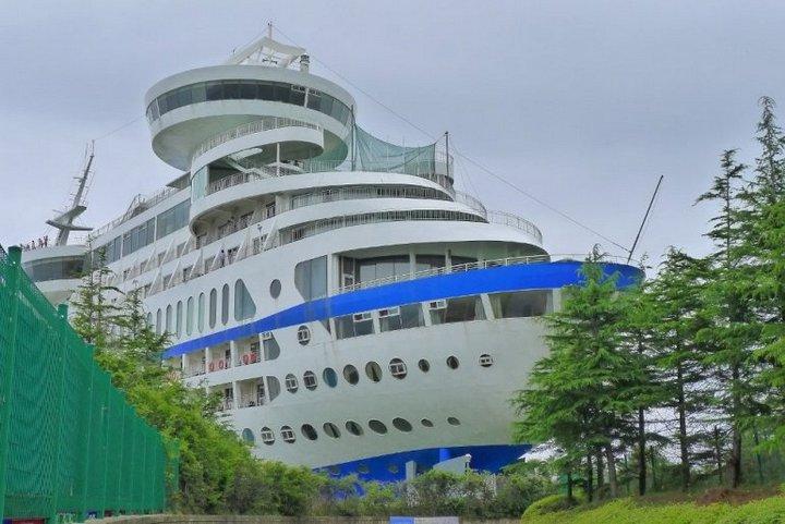 Корабль-отель Sun Cruise в Южной Корее (5)