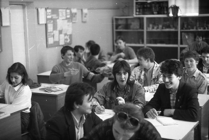 Ностальгия. Школа № 205, 1991 год (9)