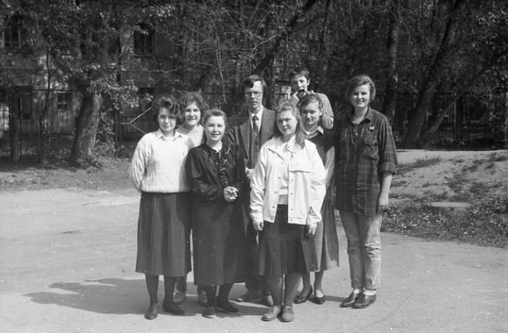Ностальгия. Школа № 205, 1991 год (15)