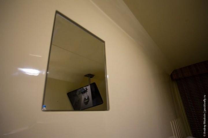Японская капсульная гостиница или жизнь в коробке (16)