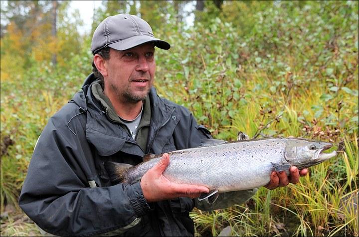 Отличная рыбалка с душевными фотографиями (47)