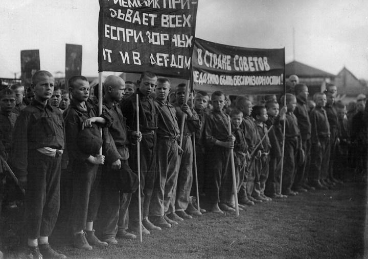 Беспризорники в России 1920-х годов (17)