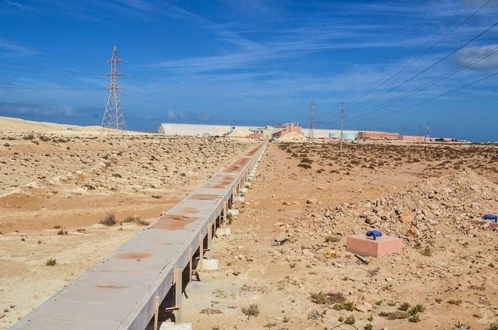 Самый длинный ленточный конвейер в мире (2)