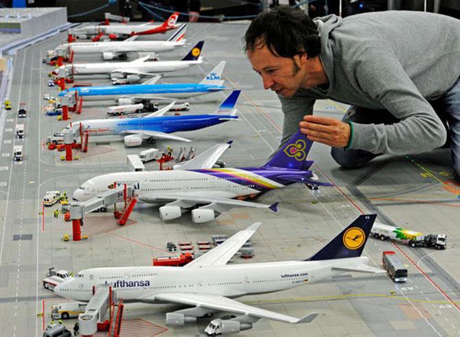 Самая большая модель аэропорта в мире (10)