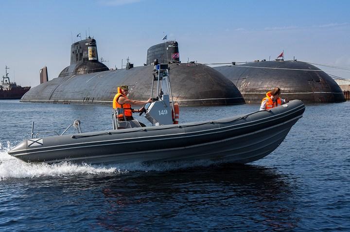 """Внутри подводной лодки """"Архангельск"""", проект 941 ТК-17 (1)"""