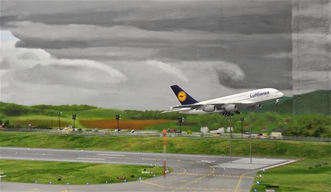 Самая большая модель аэропорта в мире (12)