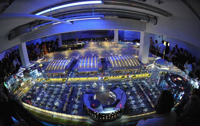 Самая большая модель аэропорта в мире (1)