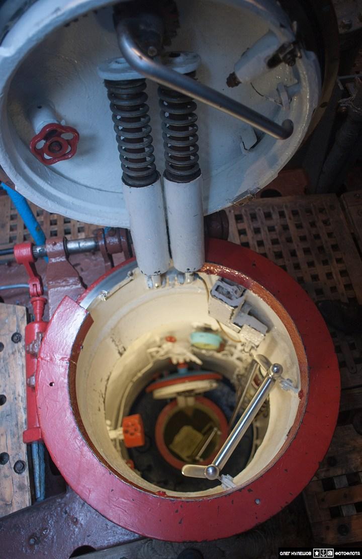 """Внутри подводной лодки """"Архангельск"""", проект 941 ТК-17 (2)"""