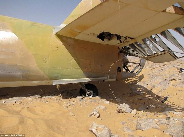 Cамолет времен Второй мировой Curtiss P-40D(E) Kittyhawk пролежал в Сахаре 70 лет (4)