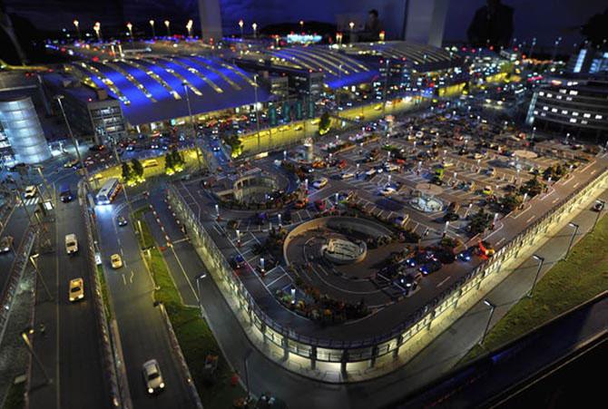 Самая большая модель аэропорта в мире (6)