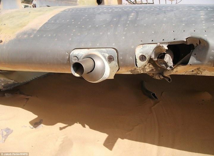 Cамолет времен Второй мировой Curtiss P-40D(E) Kittyhawk пролежал в Сахаре 70 лет (9)