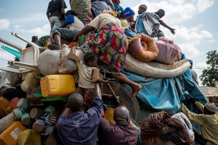 Тяжелая жизнь в Центральноафриканской Республике (1)