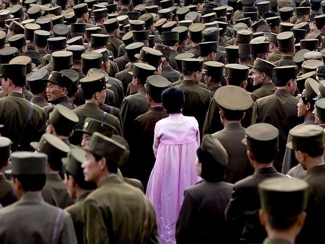 Запрещенные фотографии Северной Кореи (1)