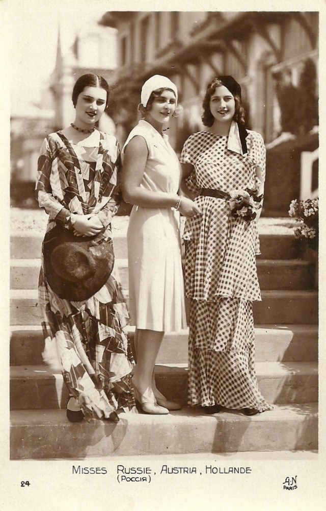 Мисс Европа — 1930 года (1)