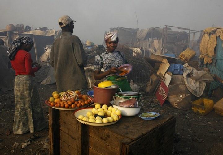 Плавучие трущобы Макоко, Нигерия (1)
