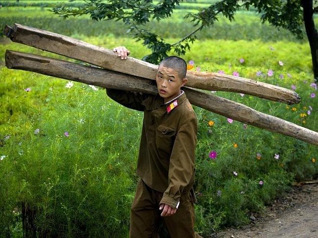 Запрещенные фотографии Северной Кореи (2)