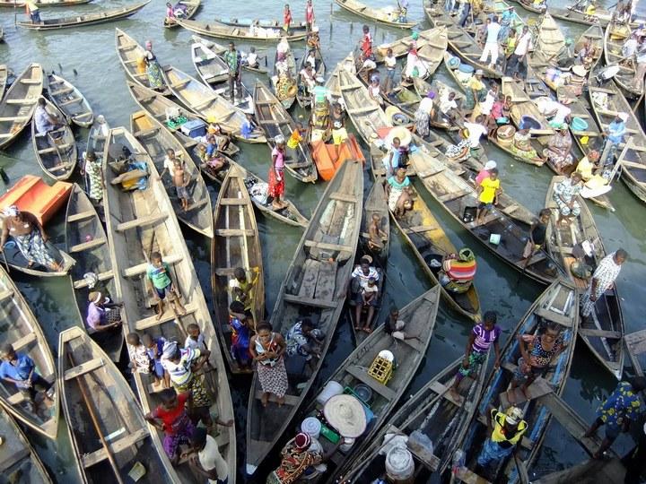 Плавучие трущобы Макоко, Нигерия (2)
