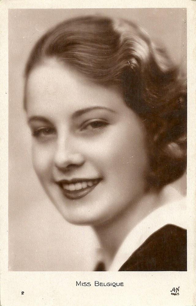 Мисс Европа — 1930 года (3)