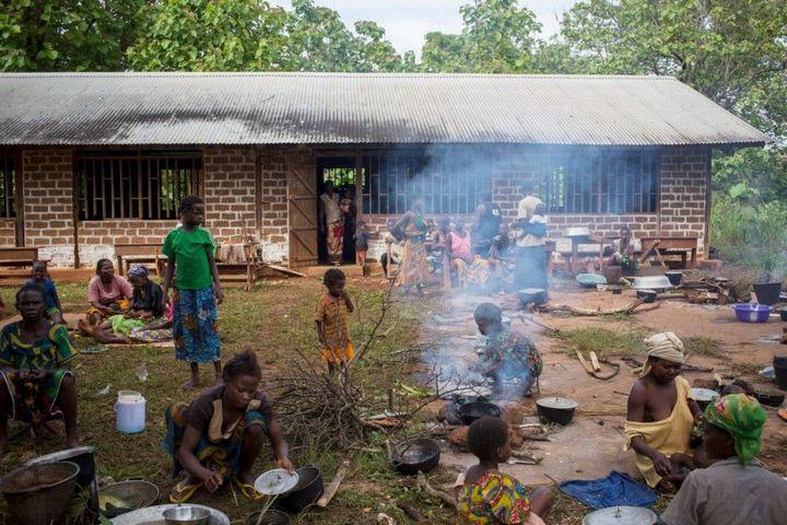 Тяжелая жизнь в Центральноафриканской Республике (13)