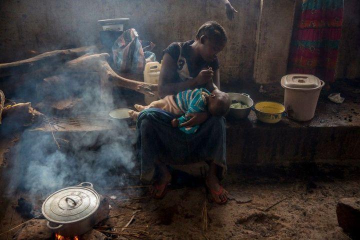 Тяжелая жизнь в Центральноафриканской Республике (14)