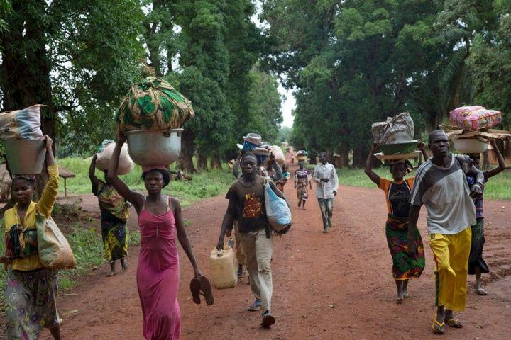 Тяжелая жизнь в Центральноафриканской Республике (19)