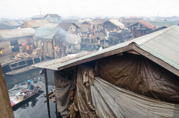 Плавучие трущобы Макоко, Нигерия (20)