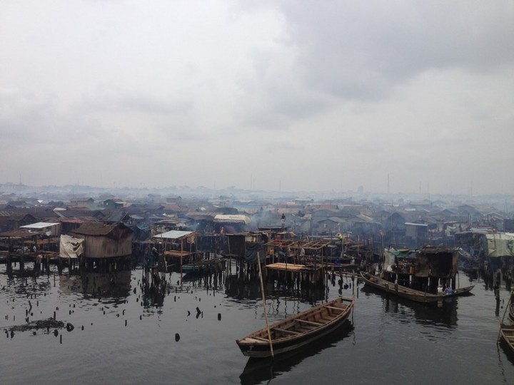 Плавучие трущобы Макоко, Нигерия (27)