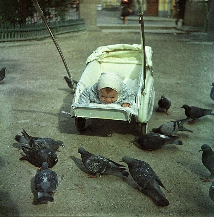 Фото 50 - 60-х годов из архивов легендарного журнала «Огонек» (1)