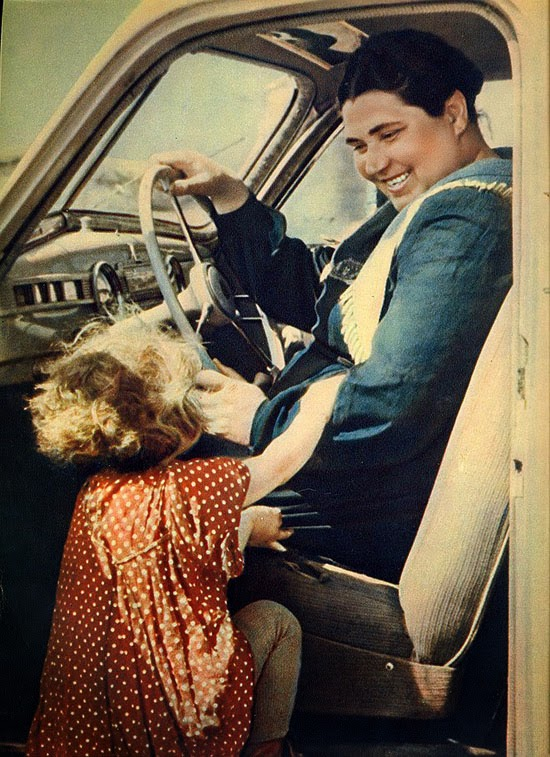 Фото 50 - 60-х годов из архивов легендарного журнала «Огонек» (9)