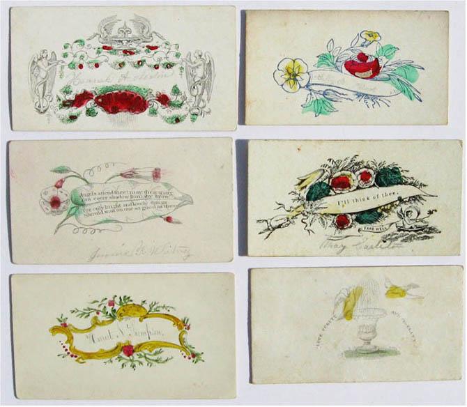 Этикет визитных карточек 19 века (2)