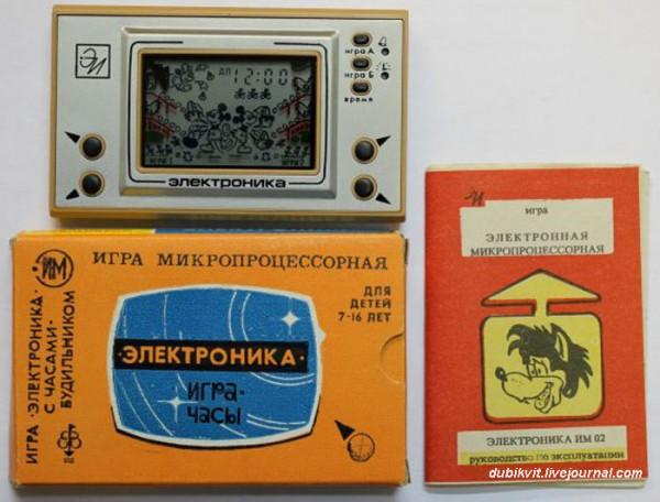 """Электронные игры фирмы """"Электроника"""" копии импортных изделий (4)"""