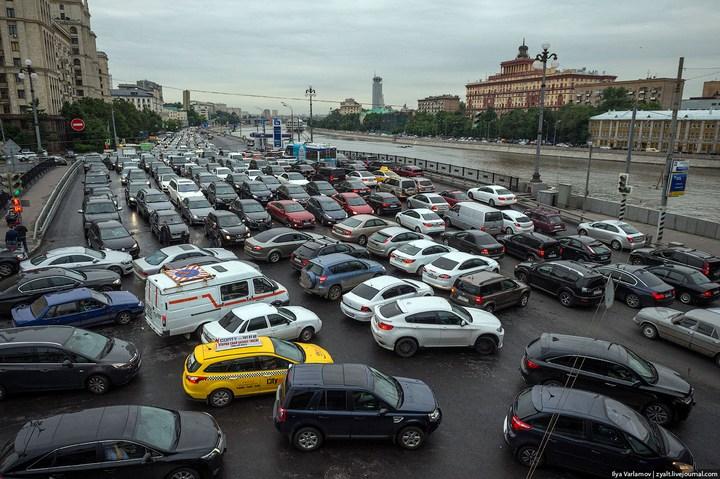 Московские пробки (1)