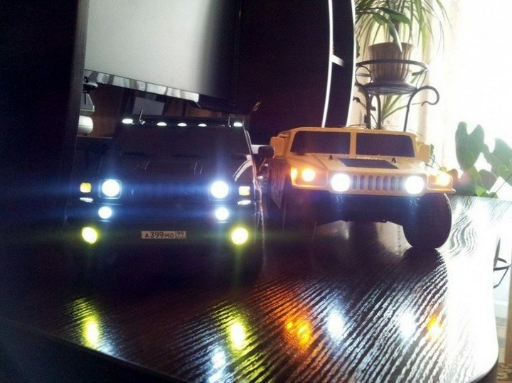Модели Hummer своими руками (1)