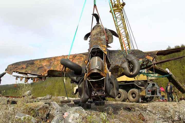 Восстановление фронтового самолета МиГ-3 (1)