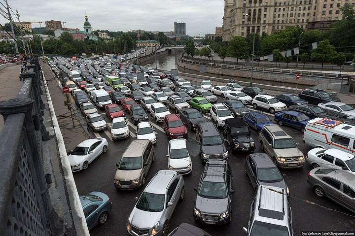 Московские пробки (2)