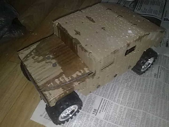 Модели Hummer своими руками (2)