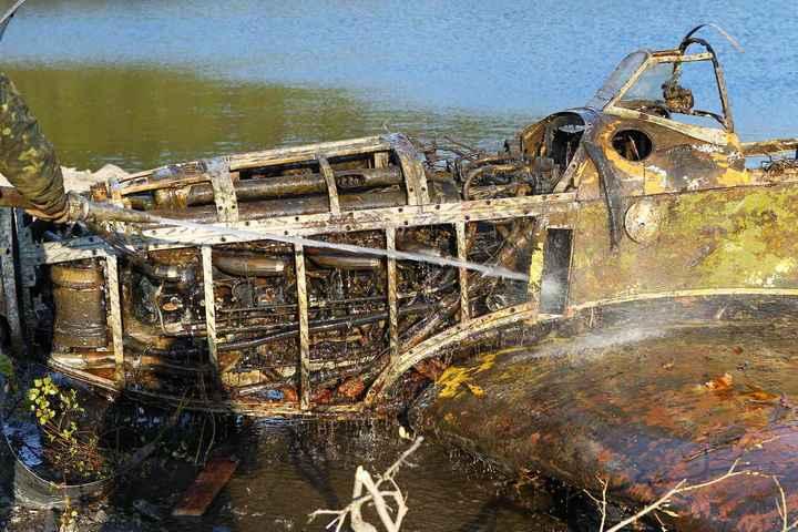 Восстановление фронтового самолета МиГ-3 (2)