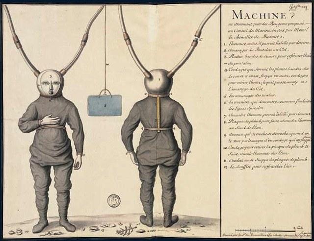 История и эволюция водолазных костюмов (3)