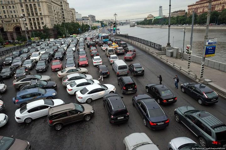 Московские пробки (3)