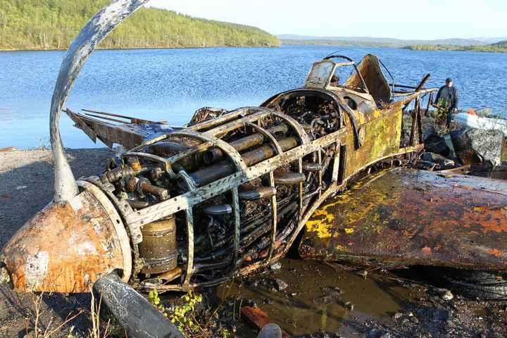 Восстановление фронтового самолета МиГ-3 (3)