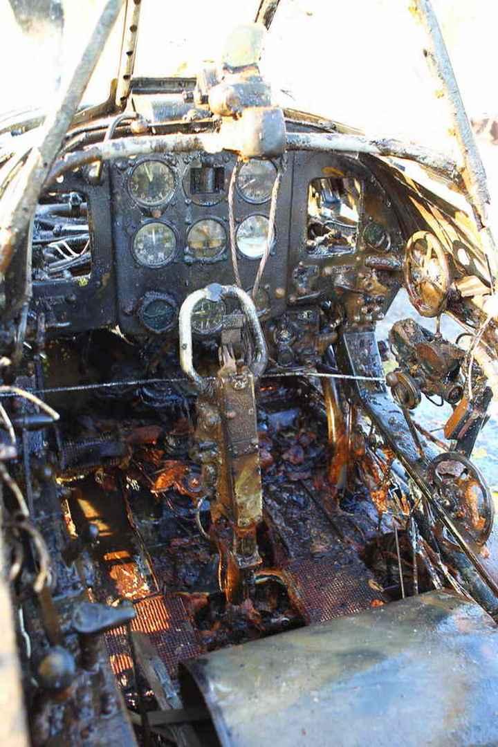 Восстановление фронтового самолета МиГ-3 (4)