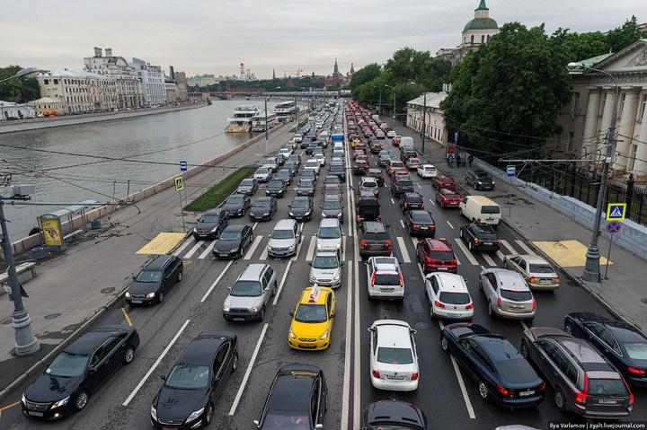 Московские пробки (5)