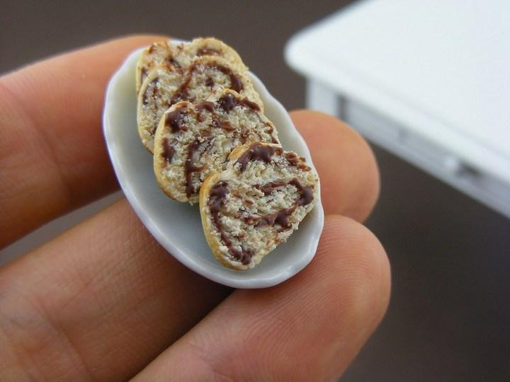 Миниатюрные копии еды Шайя Аарона (6)