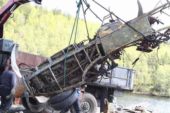 Восстановление фронтового самолета МиГ-3 (5)