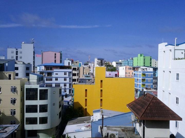 Мале — город в океане (4)